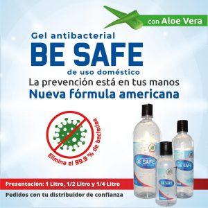 Gel antibacterial Be Safe